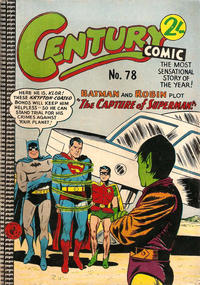 Cover Thumbnail for Century Comic (K. G. Murray, 1961 series) #78