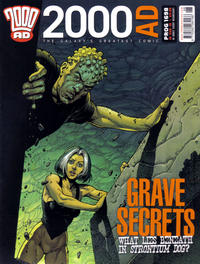 Cover Thumbnail for 2000 AD (Rebellion, 2001 series) #1698