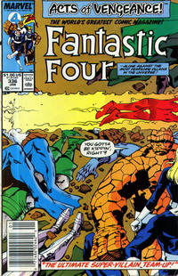 Cover Thumbnail for Fantastic Four (Marvel, 1961 series) #336 [Newsstand Edition]