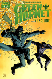 Cover Thumbnail for Green Hornet: Year One (Dynamite Entertainment, 2010 series) #9 [Matt Wagner Cover]