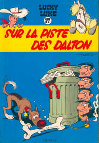 Cover Thumbnail for Lucky Luke (Dupuis, 1949 series) #17 - Sur la piste des Dalton