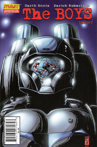 Cover Thumbnail for The Boys (Dynamite Entertainment, 2007 series) #8 [Direct Edition]