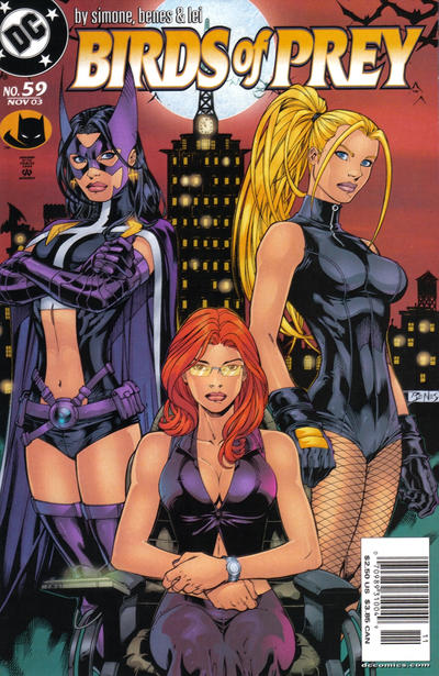 Cover for Birds of Prey (1999 series) #59 [Newsstand]