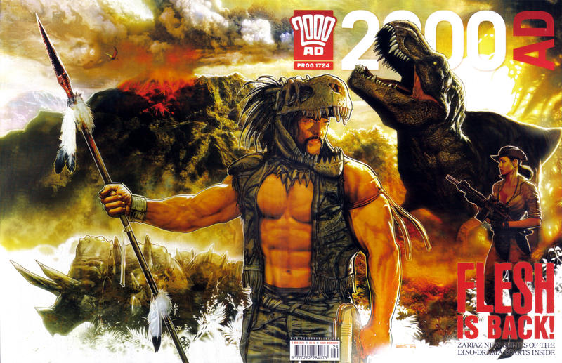 Cover for 2000 AD (Rebellion, 2001 series) #1724