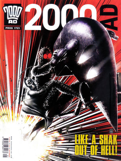 Cover for 2000 AD (Rebellion, 2001 series) #1721
