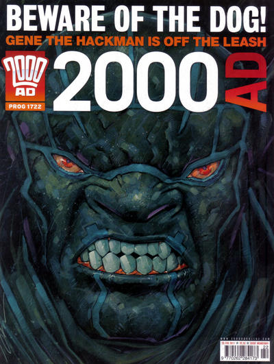Cover for 2000 AD (Rebellion, 2001 series) #1722