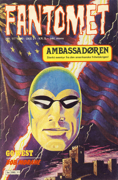 Cover for Fantomet (Semic, 1976 series) #11/1980