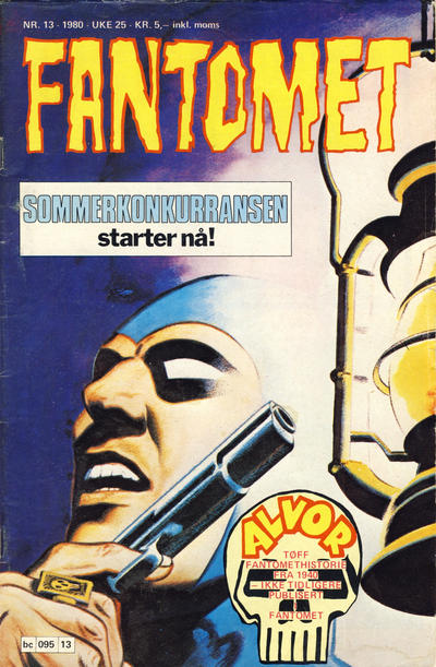 Cover for Fantomet (1976 series) #13/1980