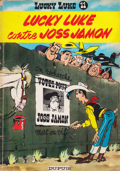 Cover for Lucky Luke (Dupuis, 1949 series) #11 - Lucky Luke contre Joss Jamon