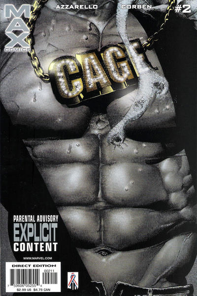 Cover for Cage (2002 series) #2