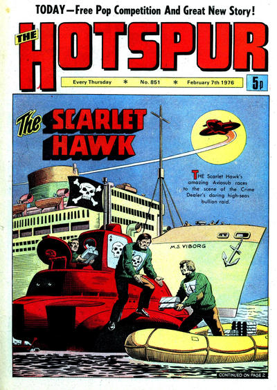 Cover for The Hotspur (1963 series) #851