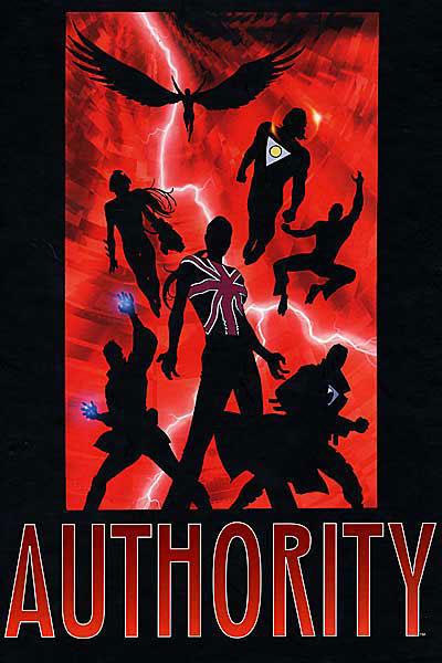 Cover for The Absolute Authority (DC, 2002 series) #1