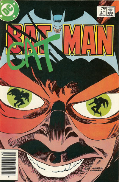 Cover for Batman (1940 series) #371 [Newsstand]