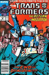 Cover for The Transformers (Marvel, 1984 series) #48 [Newsstand]