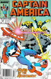 Cover for Captain America (Marvel, 1968 series) #343 [Newsstand Edition]