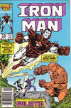 Cover Thumbnail for Iron Man (1968 series) #206 [Newsstand Edition]