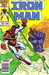 Cover Thumbnail for Iron Man (1968 series) #209 [Newsstand Edition]