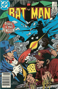 Cover for Batman (DC, 1940 series) #374 [Newsstand]