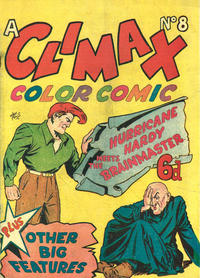 Cover for Climax Color Comic (K. G. Murray, 1947 series) #8