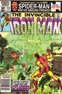 Cover for Iron Man (Marvel, 1968 series) #153