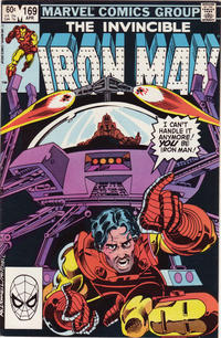 Cover for Iron Man (Marvel, 1968 series) #169 [Direct Edition]