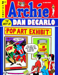 Cover Thumbnail for Archie: The Best of Dan DeCarlo (IDW Publishing, 2010 series) #2