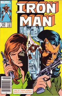 Cover for Iron Man (Marvel, 1968 series) #203 [Direct]