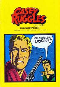 Cover Thumbnail for Casey Ruggles:  The Whisperer (Pacific Comics Club, 1981 series)