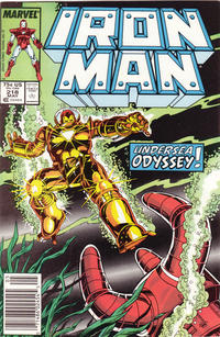 Cover Thumbnail for Iron Man (Marvel, 1968 series) #218 [Newsstand Edition]
