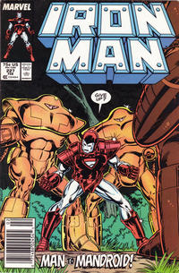 Cover for Iron Man (1968 series) #227 [Direct Edition]