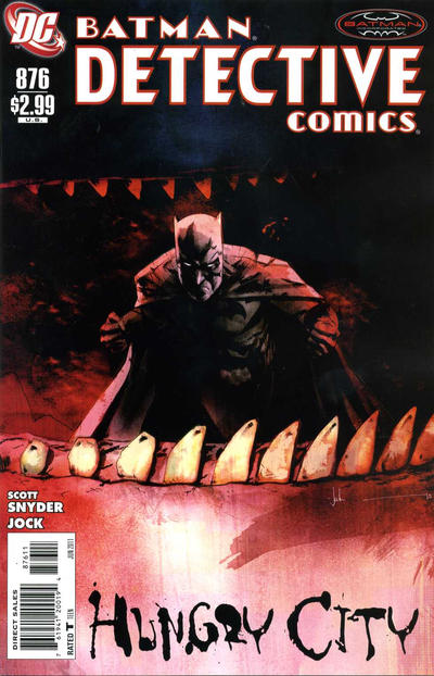 Cover for Detective Comics (DC, 1937 series) #876