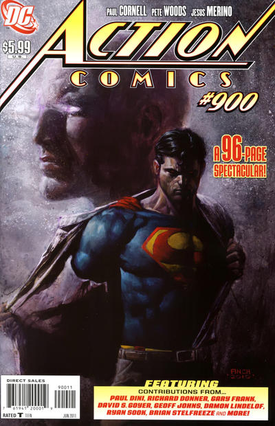 Cover for Action Comics (1938 series) #900 [Newsstand]