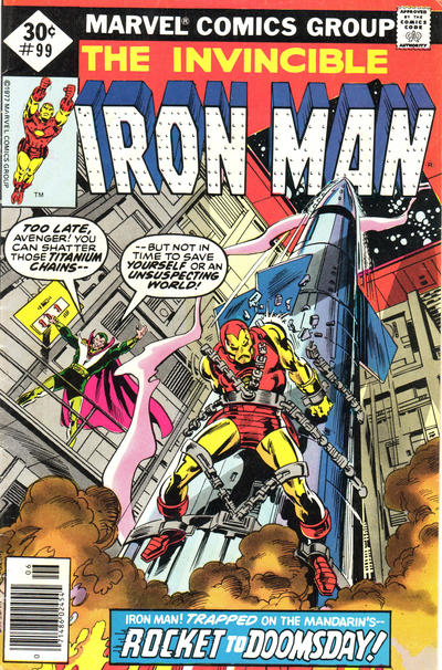 Cover for Iron Man (1968 series) #99 [30 cent cover price]