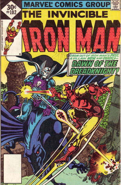 Cover for Iron Man (Marvel, 1968 series) #102 [35 cent cover price variant]