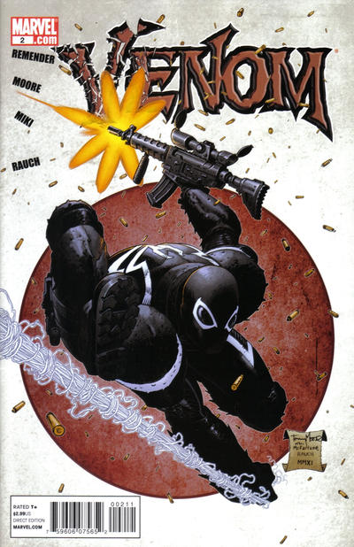 Cover for Venom (2011 series) #2