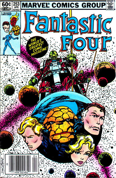 Cover for Fantastic Four (Marvel, 1961 series) #253 [Canadian variant]