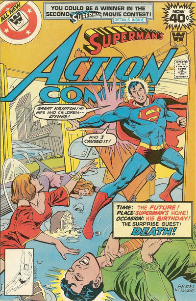 Cover for Action Comics (DC, 1938 series) #492