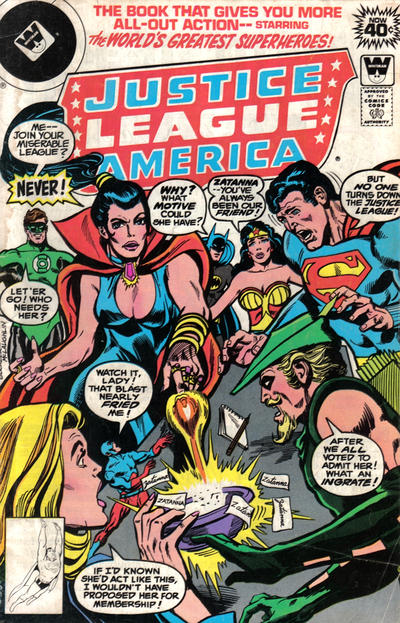 Cover for Justice League of America (DC, 1960 series) #161 [Whitman cover]