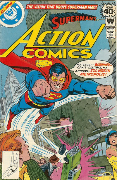 Cover for Action Comics (DC, 1938 series) #490