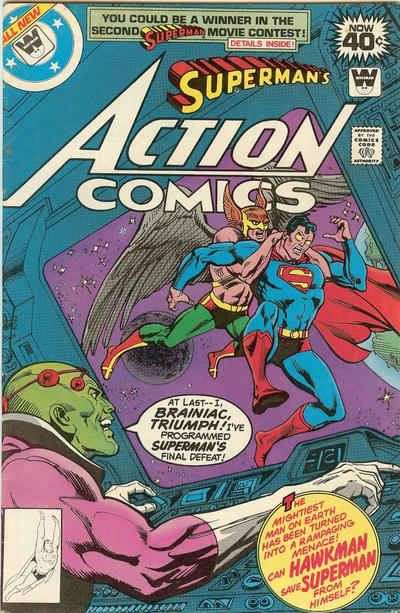 Cover for Action Comics (DC, 1938 series) #491 [Whitman cover]