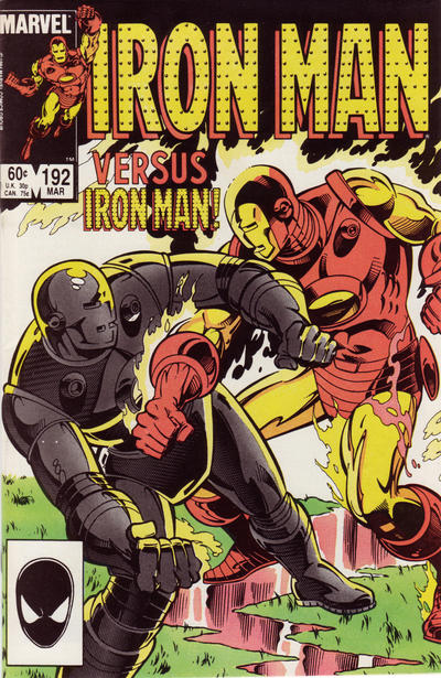 Cover for Iron Man (Marvel, 1968 series) #192 [Direct Edition]