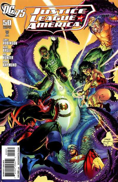 Cover for Justice League of America (DC, 2006 series) #50 [Standard Cover]