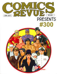 Cover Thumbnail for Comics Revue (Manuscript Press, 1985 series) #299-300
