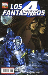 Cover Thumbnail for Los 4 Fantásticos (Panini España, 2008 series) #36