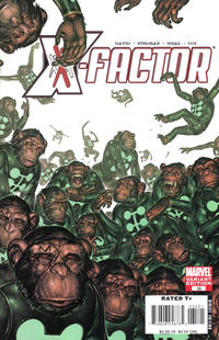 Cover for X-Factor (2006 series) #35 [Marvel Apes Variant Edition]