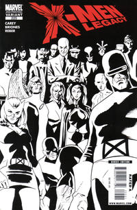 Cover Thumbnail for X-Men: Legacy (Marvel, 2008 series) #225 [Second Printing]