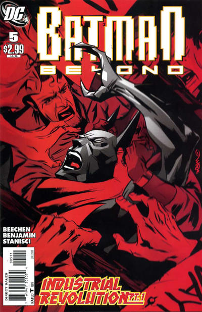 Cover for Batman Beyond (DC, 2011 series) #5