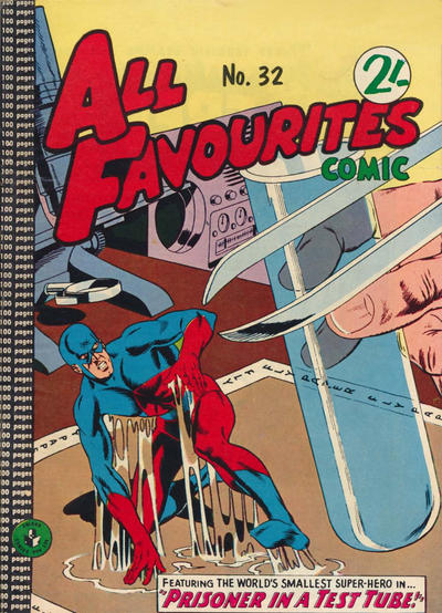 Cover for All Favourites Comic (K. G. Murray, 1960 series) #32