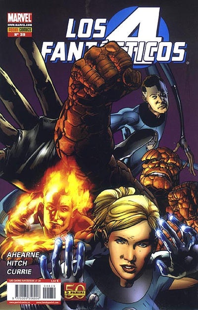 Cover for Los 4 Fantásticos (2008 series) #39