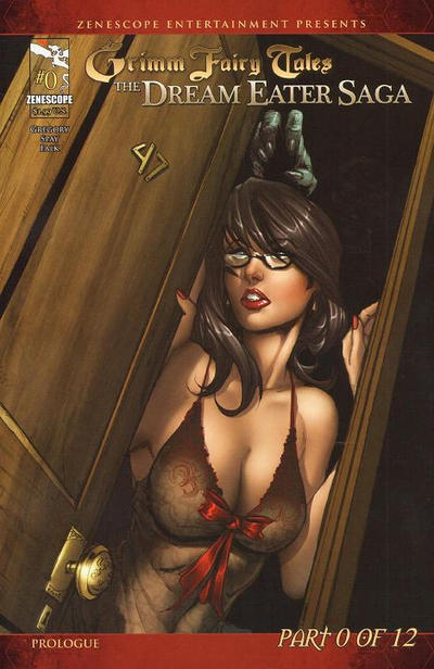 Cover for Grimm Fairy Tales: Dream Eater Saga (Zenescope Entertainment, 2011 series) #0 [Cover B - Christopher Cote]